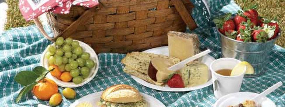 Наборы одноразовой посуды к сезону пикников